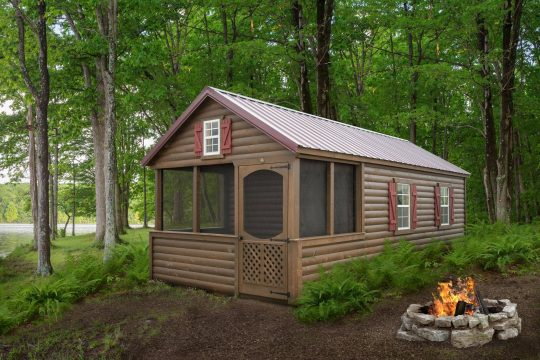 12X24 CAMPING CABIN